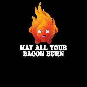 May All Your Bacon Burn Shirt For Women & Men