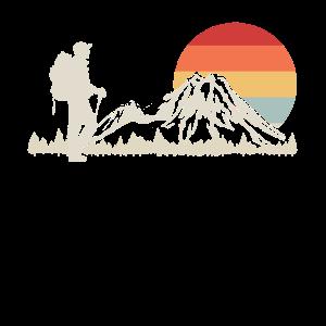 Wandern Retro