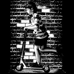 Stunt Scooter   Kickboard   Tretroller   Junge