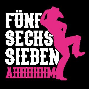 Linedance Western Tanz Tänzer Country Geschenkidee