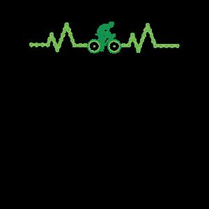 Nature Biking Herzschlag