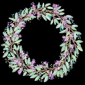 Blumenkranz für Verliebte