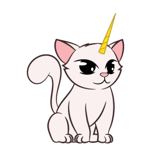 Animal Lover Funny Cat + Unicorn = Kitticorn