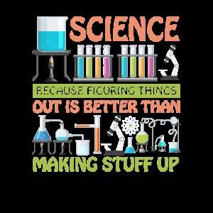 Wissenschaft, weil es besser ist, Dinge herauszufinden