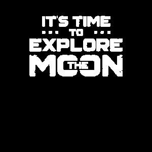 Es ist Zeit den Mond zu erforschen Mondreise