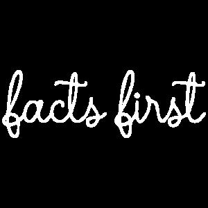 Fakten zuerst