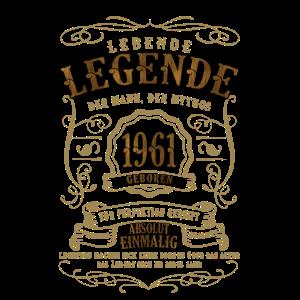 Jahrgang 1961 Geburtstag 1961 Lebende Legende