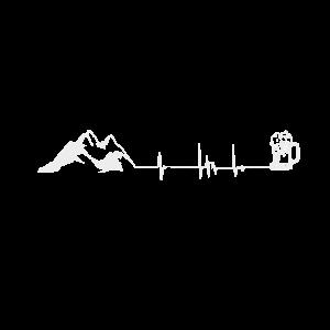 Lustiger spruch für outdoor wanderer berg