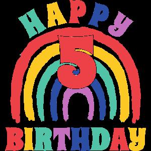 5. Geburtstag Shirt Geburtstag 5 Jahre Geschenk