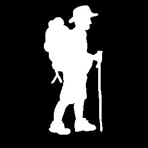 Wanderer Bergsteiger