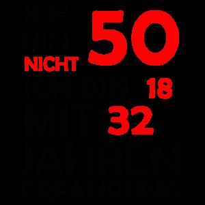 Nicht Fünfzig - Achtzehn mit Zweiunddreißig Jahren