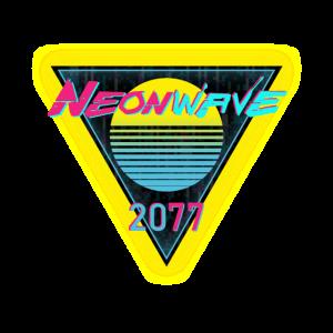 Cyber Neonwave Sun