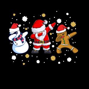 Dabbing Weihnachtsmann fr Kinder Mnner Geschenke.p