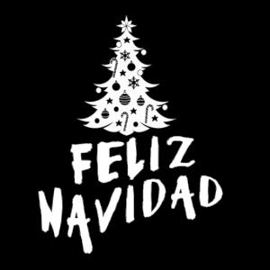 Feliz Navidad Happy Christmas in Spanish