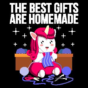 Best Gifts Are Homemade Nähen Häkeln Stricken