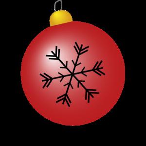 Weihnachtskugel - besinnliches Weihnachtsfest