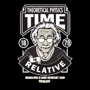 Physik Zeit ist relativ Wissenschaft Uni Geschenk