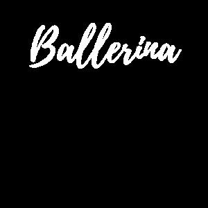 BALLERINA SCHRIFTZUG