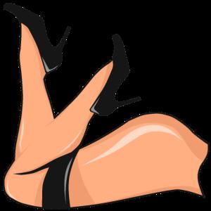 Hintern Hintern Arsch Hintern sexy Bikini Mädchen Frau