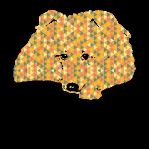 Shetland Sheepdog Geometric Shirts