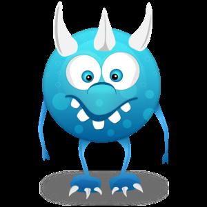 Monster Blau