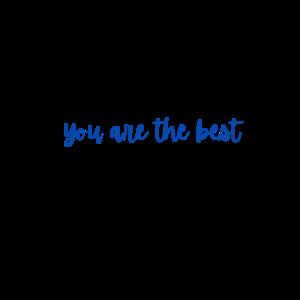 Sie sind der Beste