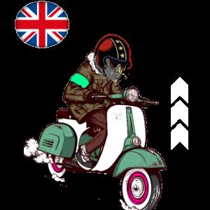 Motorroller Roller Bike Kult 60er Jahre England