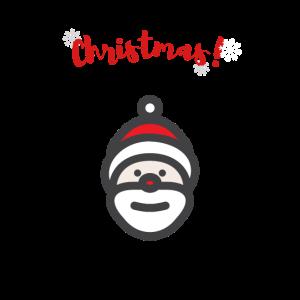 Weihnachtsmann Wintergeschenk