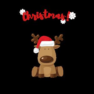 Hirsch Weihnachten Weihnachtsgeschenk Winter