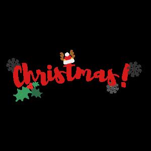 Weihnachts-Weihnachtsmann-Winter-Schneegeschenk
