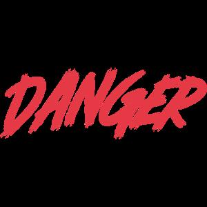 Gefahr - Red Street Logo