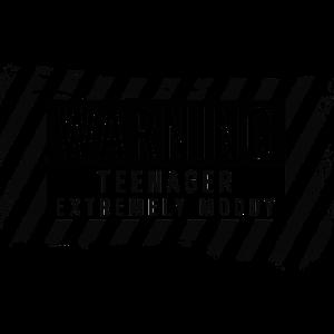 WARNUNG Teenager EXTREM MOODY Design