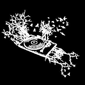 Schallplattenspieler - Musik - Natur