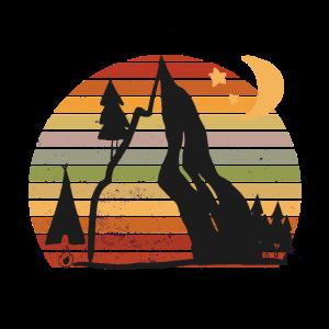Camper Sonnenuntergang