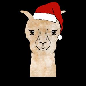 Weihnachtsalpaka Weihnachten Alpaka
