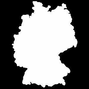 Deutschland Umriss Germany Karte Geschenk Deutsch
