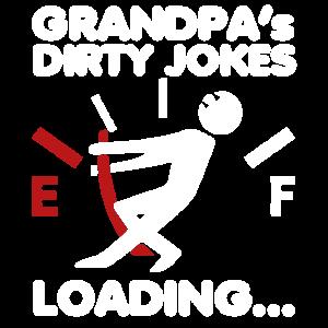 Opa Großvater Witze Rente Geschenk