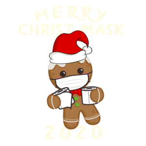 Merry ChristMask weihnachtsoutfit