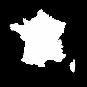 Frankreich Umriss Franzose Geschenk Landkarte