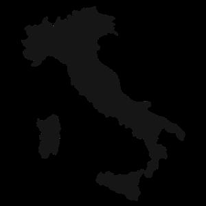 Italien Umriss Italiener Geschenk Italienisch