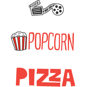 Film Popcorn Pyjama Pizza