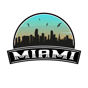 Miami Florida USA Skyline Souvenir