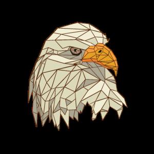 Polygonal Eagle Shirt
