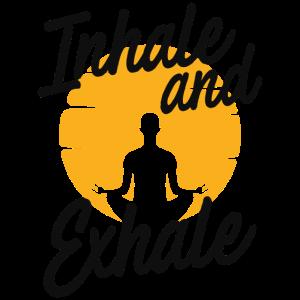 Yoga Atmung Spruch