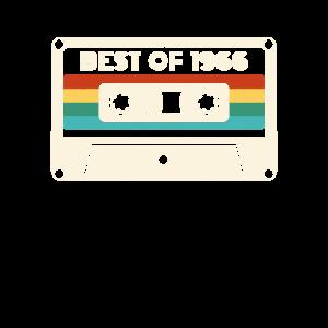 55 Geburtstag Vintage Best Of 1966 Retro Kassette