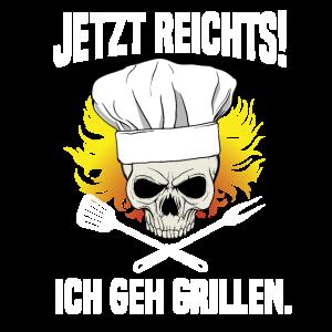 Lustig Jetzt Reichts Ich Geh Grillen BBQ Geschenk