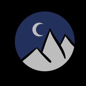Nächtliche Berge