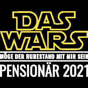Pensionär 2021 Das Wars Ruhestand Beamter Pension