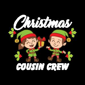 Weihnachten Cousin Crew