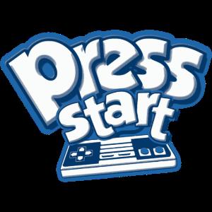 Press Start Gamepad Retro Gaming Konsole 8Bit